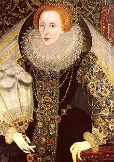 Portraits of Queen Elizabeth The First, Part 2: Portraits 1573-1587