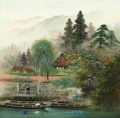 Магические пейзажи Koukey Kojima