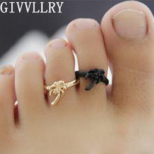 Nueva joyería de la llegada de los Rhinestones del pie oro y negro para mujer de…