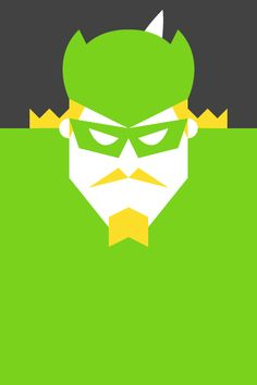 Re Vision Pop Culture Icons by Forma & Co - Green Arrow comic cartoon DC super hero