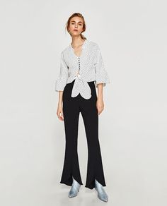 TOP WITH BOW DETAIL-View all-TOPS-WOMAN | ZARA United States