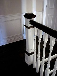 Picture 5 of 8 Newel Posts, Fireplace Remodel, Stained Concrete, Small Rooms, Home Look, Home Improvement Projects, Cheap Home Decor, Home Remodeling, Cheap Renovations