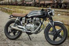 ϟ Hell Kustom ϟ: Honda CB250 1981 By Retro Bikes Croatia