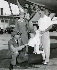 Vintage Air Travel: Scenes From The Air In A Bygone Era; Yep, it really was like this.