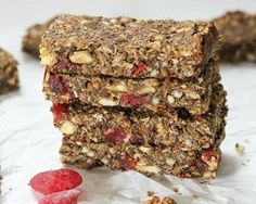 Homemade granola bars recipe (gluten-free) - the nutty scoop from Breakfast Food List, Easy Healthy Breakfast, Breakfast For Kids, Breakfast Recipes, Nutritious Snacks, Healthy Snacks, Healthy Recipes, Healthy Drinks, Diet Recipes