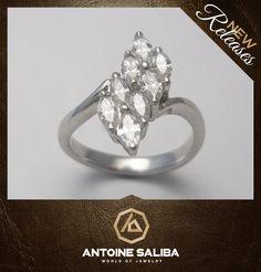 Diamond Ring 18kt Gold  http://www.antoinesaliba.com/product.php?idprod=8342=3=4