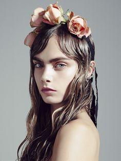 Cara Delevingne by Sofia Sanchez & Mauro Mongiello///Vogue Korea December 2012