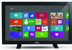 Infocus releases 55-inch BigTouch all-in-one PC. The Windows 8 computer ships with Windows 8 Pro and has a wireless keyboard and mouse, features an Intel i5 processor, two gigabit Ethernet ports, 802.11n Wi-Fi, two HDMI ports, and six USB ports. Priced at $ 4,999.