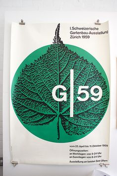 G59 – 1959  Design: Franz Fässler