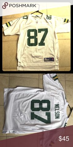 22fd454dfe8e3 Jordy Nelson Green Bay Packers jersey Like new - youth large fits women s  small - just in time for football!
