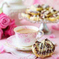 These fancy chocolate biscuits are great for an impromptu afternoon tea.