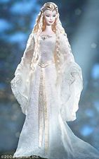 Galadriel in the Lord of the Rings: the Fellowship of the Ring 2004 Barbie Doll