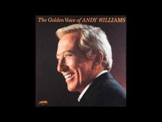 Andy Williams....through the years.