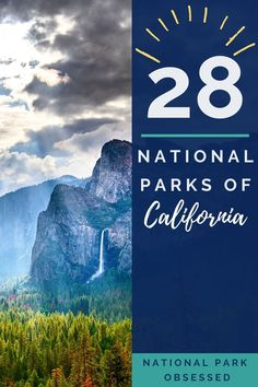 California has more National Parks than any other state. With 28 parks, the National Parks of California are a diverse group of parks with something for everyone. National Parks in California / California National Parks / Cali National Parks / things to do in California