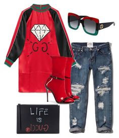"""""""Kellis"""" by karon-stylez on Polyvore featuring Abercrombie & Fitch and Gucci"""
