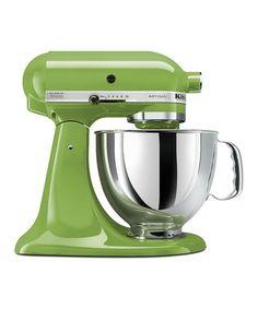 Green Apple 5-Qt. Artisan® Series Stand Mixer #zulily #zulilyfinds