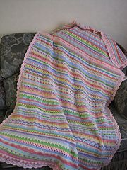 """...green salmon  After stitching in all the ends, I did a row of half trebles all <span class=""""best-highlight"""">the way round in pale pink, followed by treble clusters in aqua, then pale pink scallop shells in double trebles, with cream double crochet to finish.</span>  UPDATE: Julie has now finished her blanket and the pattern link above takes you to a page on her blog dedicated..."""