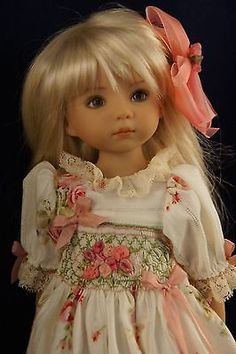 Effner-13-Little-Darling-MISTY-MORNING-ROSE-Ensemble-by-Ladybugs-Doll-Designs