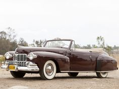 1948 Lincoln Continental Cabriolet.