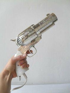 Big ass gun hair dryer!
