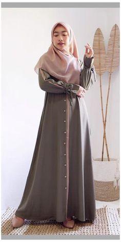 Modesty Fashion, Abaya Fashion, Fashion Outfits, Modest Outfits Muslim, Moslem Fashion, Stylish Hijab, Fancy Dress Design, Muslim Women Fashion, Hijab Fashion Inspiration