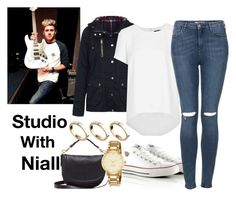 """Studio With Niall"" by the4dipshits ❤ liked on Polyvore featuring Topshop, Converse, Mulberry, Kate Spade and ASOS"