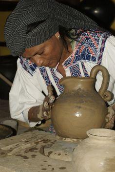 San Vicente blusa, Oaxacan ceramicist