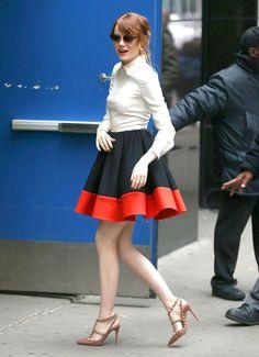 Look de la semana del 28 de abril al 4 de mayo 2014 Emma Stone Valentino