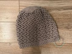 Alizé, bonnet spring summer for woman, gray, realized in a point of  fantasy, cotton crochet 4bc223f36cb