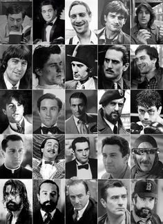 """""""Happy birthday to one of the greatest actors of all time, the legendary Robert De Niro. Al Pacino, I Movie, Movie Stars, Actrices Hollywood, Architecture Tattoo, The Expendables, Martin Scorsese, Hollywood Actor, Hollywood Actresses"""