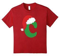 Kids Christmas Santa Hat Letter C Monogram Holiday T-shir... https://www.amazon.com/dp/B016WHTX2U/ref=cm_sw_r_pi_dp_1ovMxbFQD7MKN