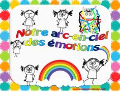 Care Box, Emotion, Les Sentiments, Cycle 3, Teaching French, Perception, Psychology, Kindergarten, Iris