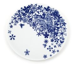 Butterfly Flowers, 33cm Plate - Plates - Table Stories - Tableware   Tord Boontjes