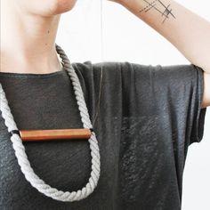 01 Handmade Twisted Statement Necklace   http://adornmilk.com