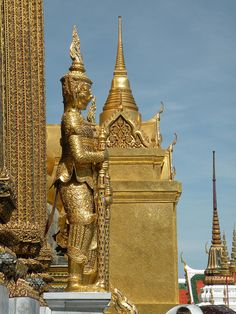 Wat Phra Kaew (Temple of the Emerald Buddha - Grand Palace Complex), Bangkok