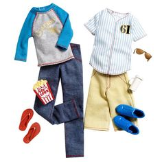 Barbie Ken Fashionistas - Sports Game Day