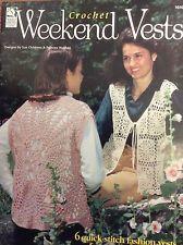 Crochet Weekend Vest Women Lacy 6 Fashion Design crochet Cotton Discontinued