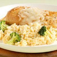 Mozzarella Chicken Rice Skillet Recipe