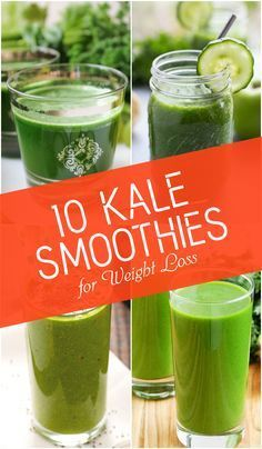 Kale is considered the king of leafy greens and it is garnering a lot of attention in recent times as the modern superfood for weight loss. But the health benefits of kale go way beyond any hype. This leafy green vegetable is a rich source of dietary fiber, vitamins and minerals which provides satiety at … #weightlosssmoothies #smoothies #kaleLeafsmoothies