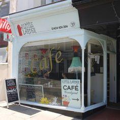 The Little Larder cafe, St Leonards on sea.