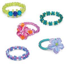 Brilliant Bead Rings