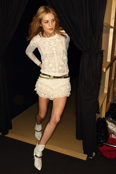 Backstage: Isabel Marant Fall 2012 RTW I'm in love with this dress