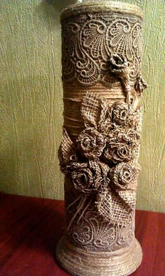 1 million+ Stunning Free Images to Use Anywhere Toilet Paper Roll Art, Rolled Paper Art, Cardboard Tube Crafts, Newspaper Crafts, Bottle Art, Bottle Crafts, Hobbies And Crafts, Diy And Crafts, Flax Weaving