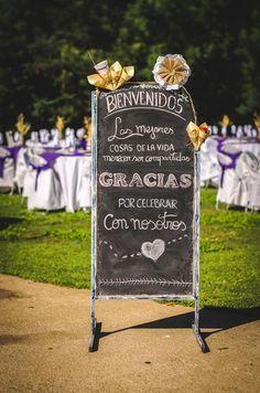 letrero matrimonio