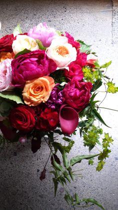 Vibrant Bouquet by Woodstock Florist ... www.woodstock.co.nz