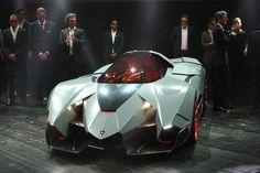 Lamborghini Egoista ランボルギーニ、1人乗りスーパーカー「エゴイスタ」の画像と情報を正式発表!
