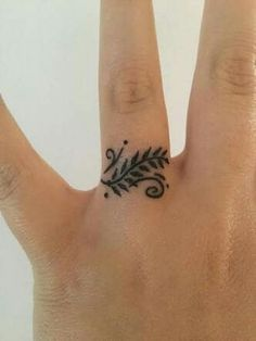 One finger tatt is still classy, right?