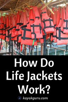 How do life jackets work? Do inflatable and foam-filled PFDs work differently? Buoyancy investigated How do life jackets work? Do inflatable and foam-filled PFDs work differently? Saltwater Fishing, Kayak Fishing, Fishing Tips, Fishing Accessories, Camping Accessories, Outdoor Life, Outdoor Gear, Kayak For Beginners, Kayak Equipment