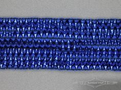 Bling bling band 40mm kobalt blauw