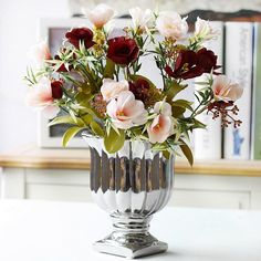 54 best artificial flowers images on pinterest floral arrangements real touch camellia artificial flower living room decoration mightylinksfo